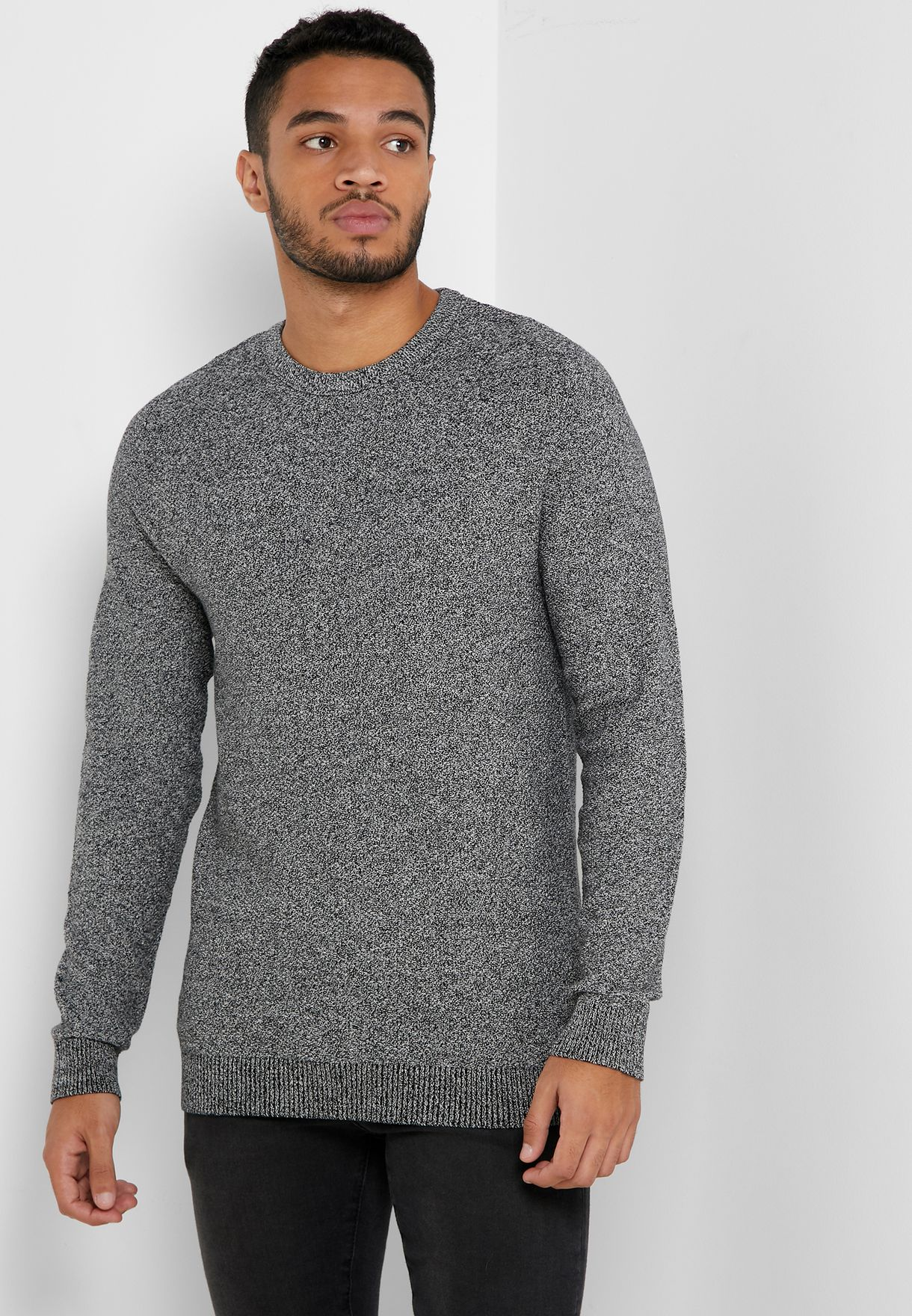 Structure Knitted Jumper