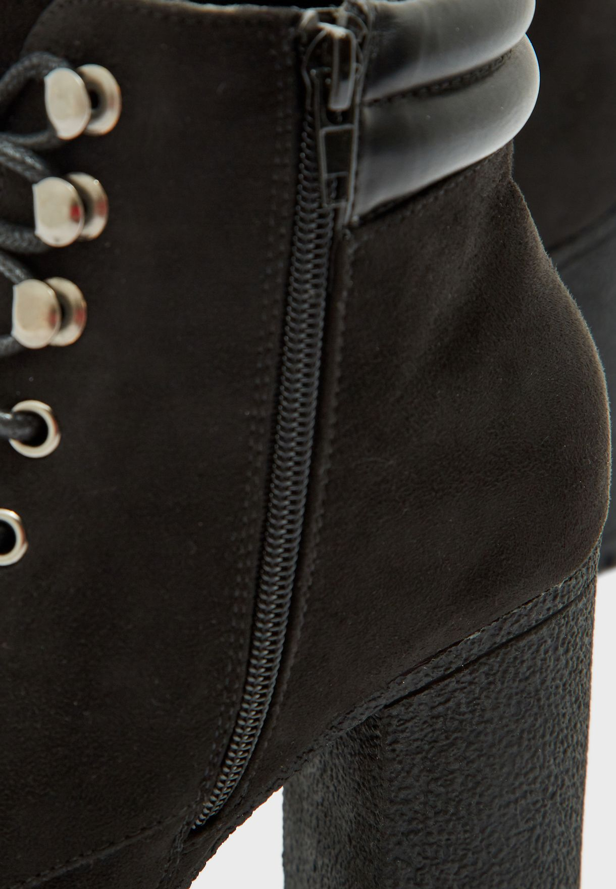 Wide Fit Base High Heel Ankle Boot