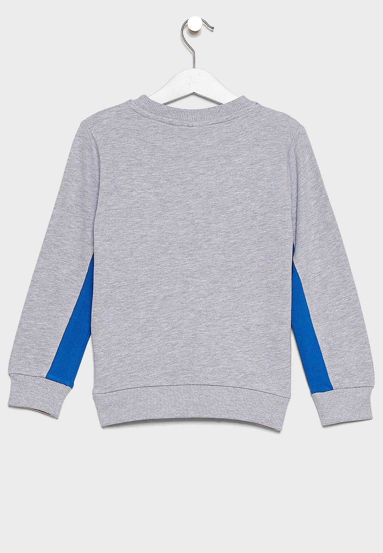 Kids Mr. Men Badgeables Sweatshirt