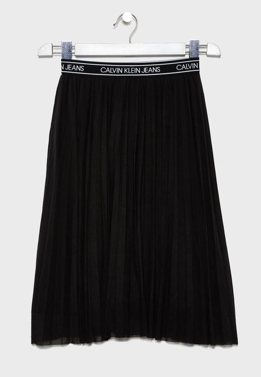 Kids Fine Mesh Skirt