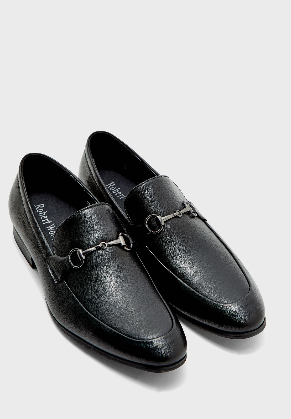 Horsebit Trim Formal Loafers