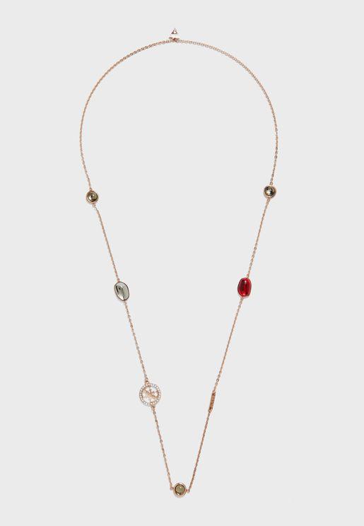 Glamchic Stones Long Necklace