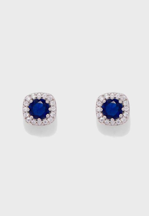 Kalmaleane Pierced Stud Earrings