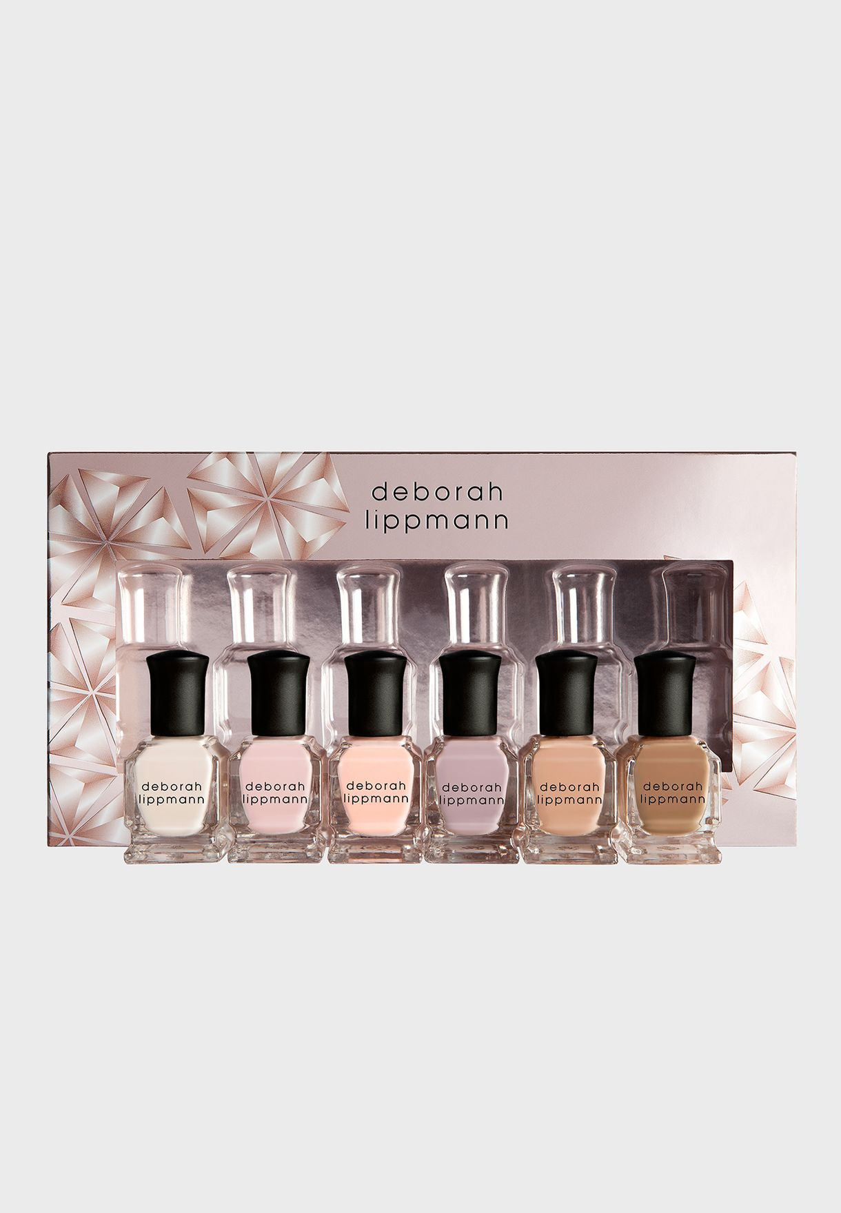 6 Pack Nail Polish Set - Undressed