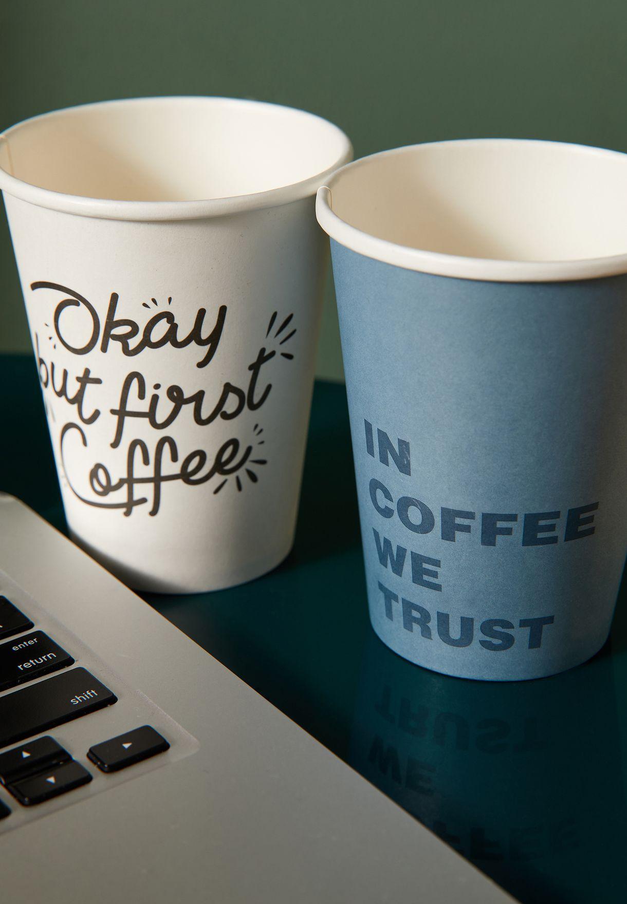 ضوء مكتب شكل كوب قهوة
