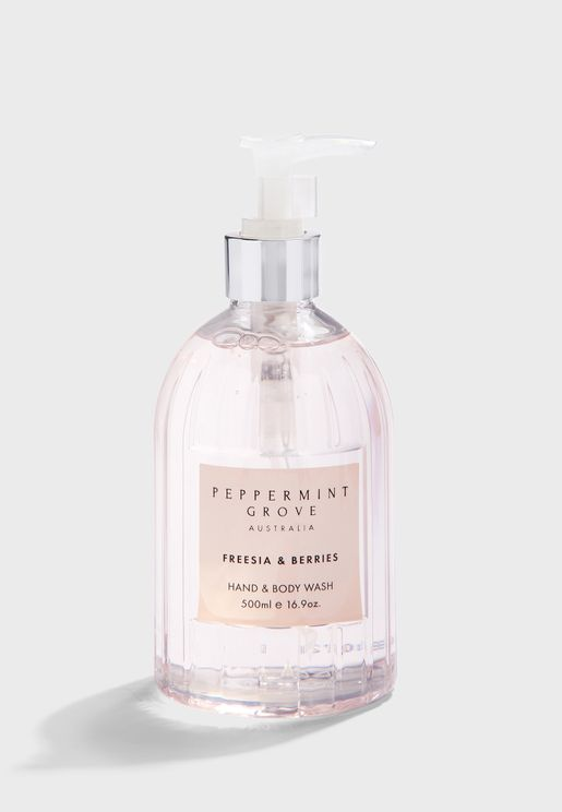 Freesia & Berries Hand And Body Wash 500ml