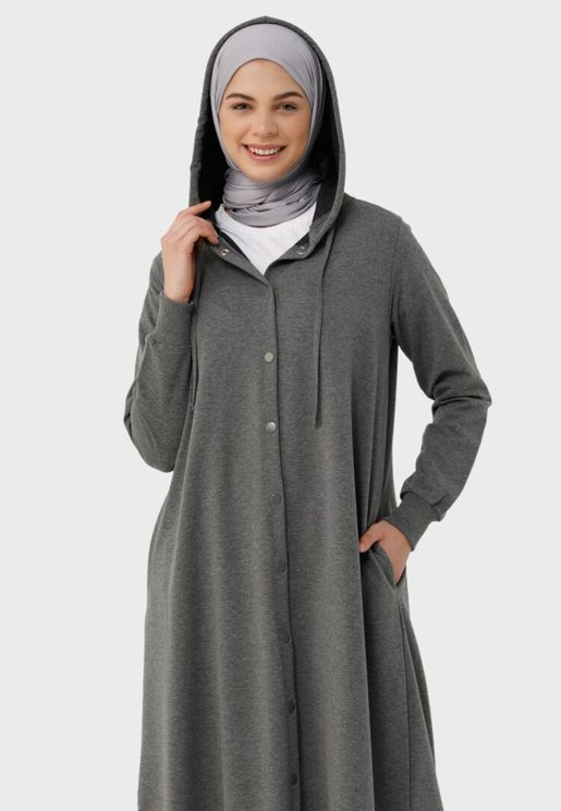 Longline Hooded Coat