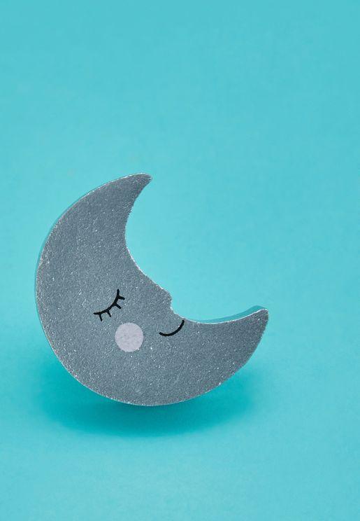 Sweet Dreams Smiling Moon Drawer Knob