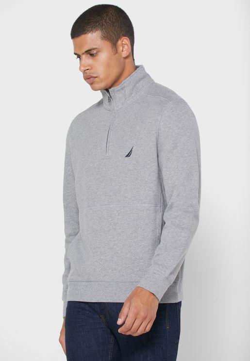 Classic Half Zip Sweatshirt