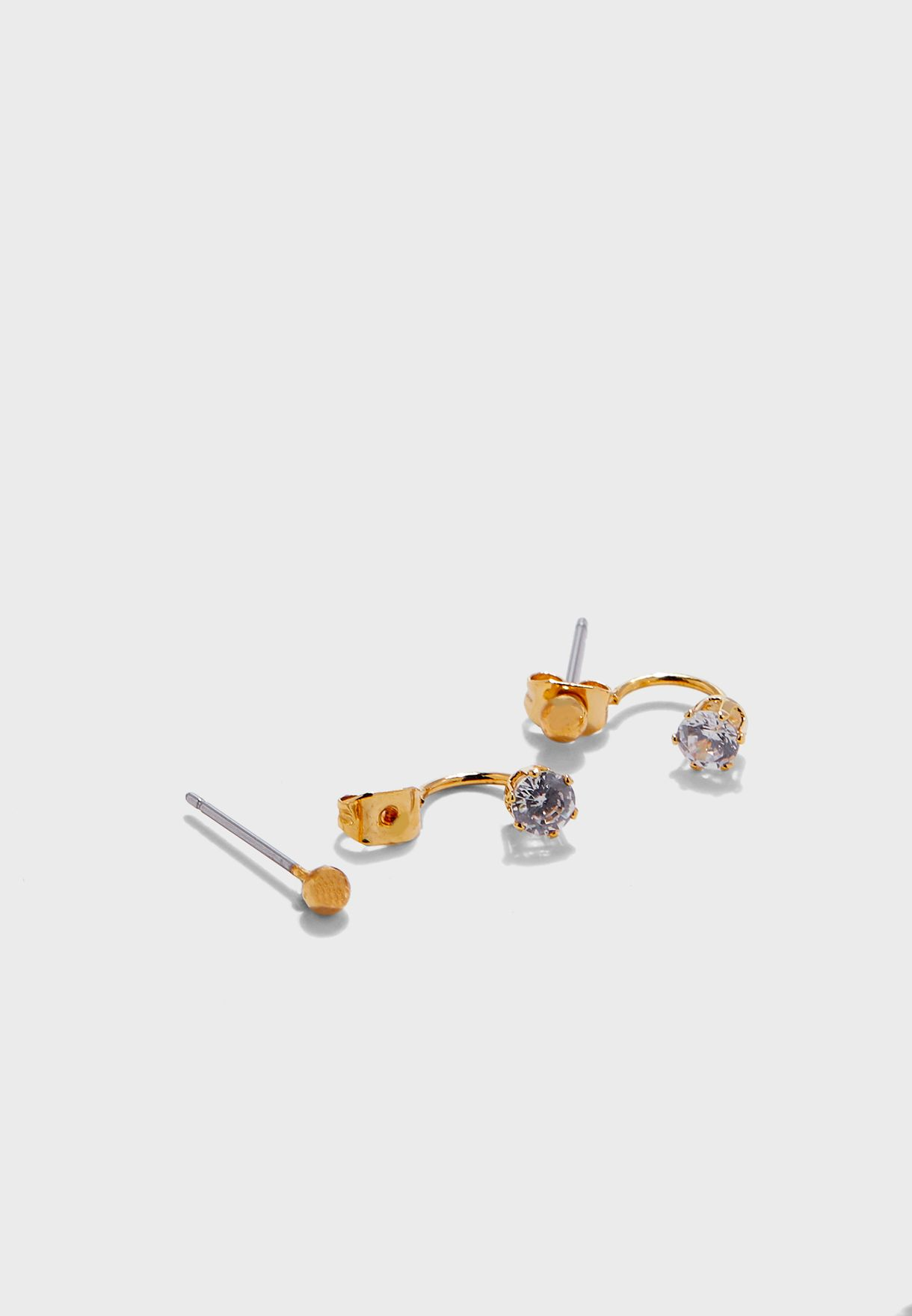 Tiny Ball Drop Earrings