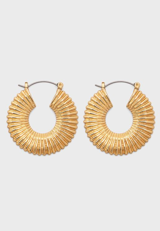 Jaqueline Hoop Earrings