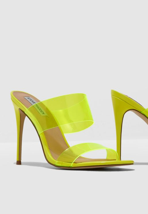 Charlee Sandal - Yellow