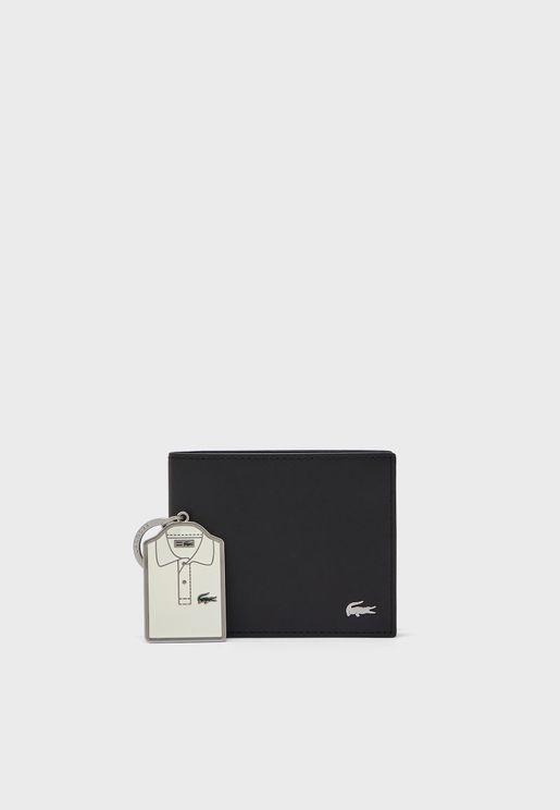 طقم (محفظة + حلقة مفاتيح)
