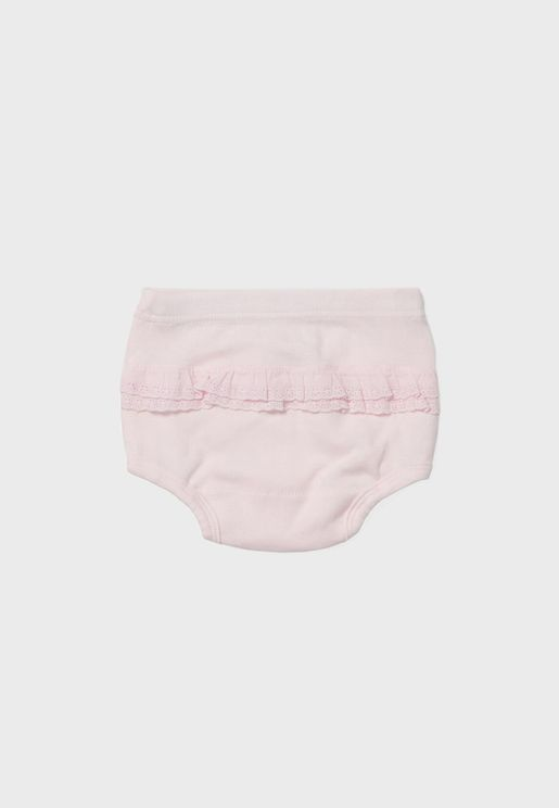 Infant 2 Pack Assorted Briefs