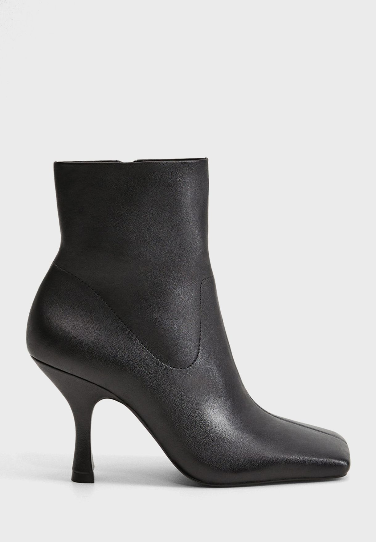 Julieta Squared Toe Ankle Boot