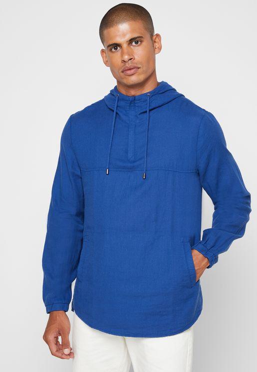 Essential Half Zip Hoodie