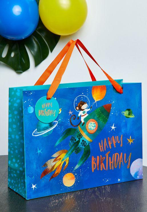 Space Monkey Gift  Bag
