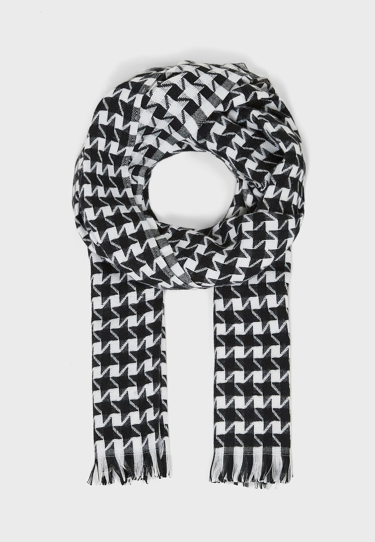 Large Dogtooth Scarf