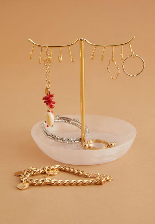10-Hook Eyelash Jewellery Stand