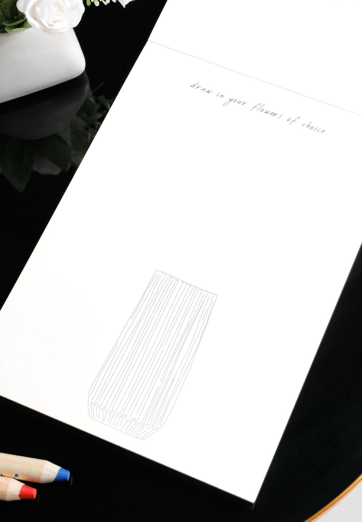 كتاب تلوين ذا فلاور لوفرز كلوب