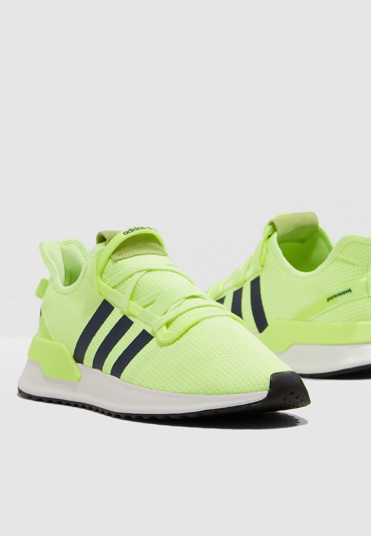 Adidas Neon Green U Path Run Sneakers price in Saudi