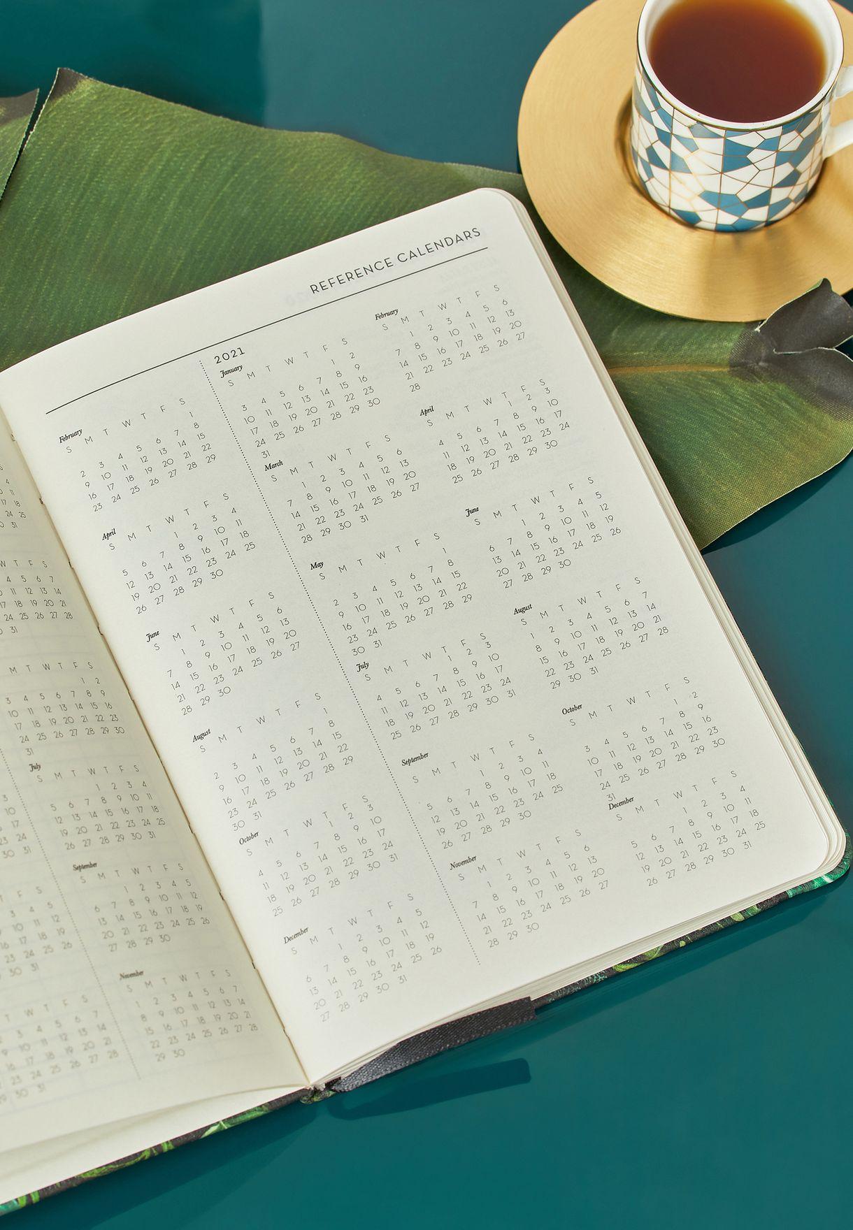 دفتر مذكرات اسبوعي  2020