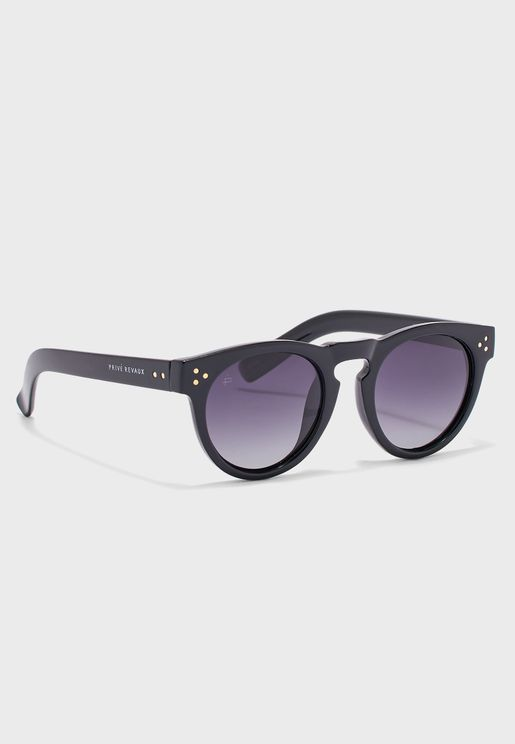 The Warhol Oval Shape Sunglasses
