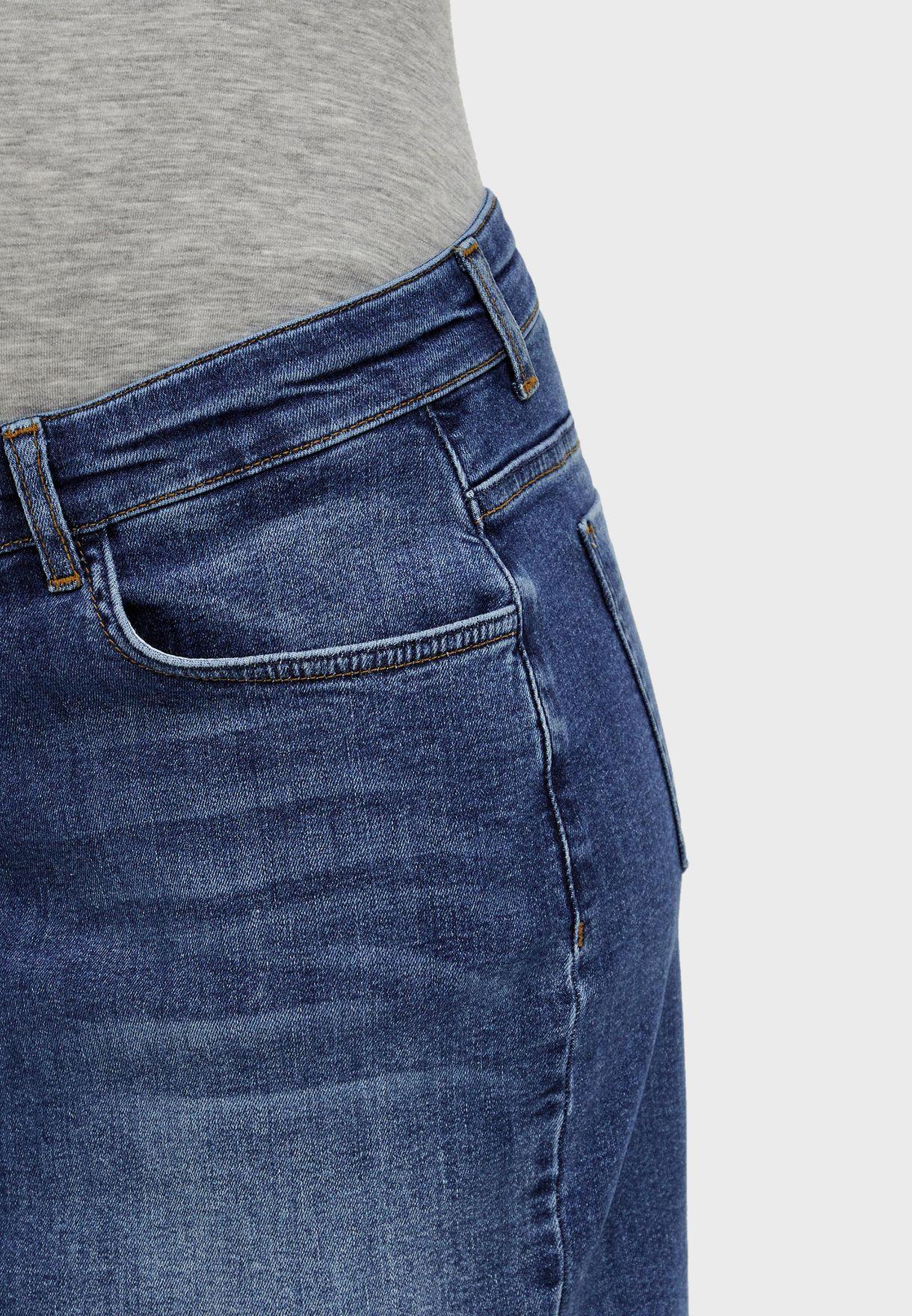 تنورة جينز للحوامل