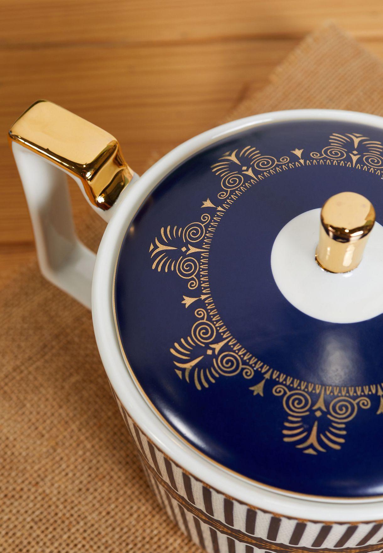 11 Piece Ceramic Tea Set