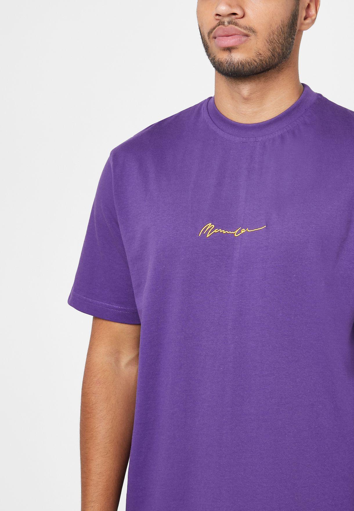 Logo Signature Essential Crew Neck T-Shirt