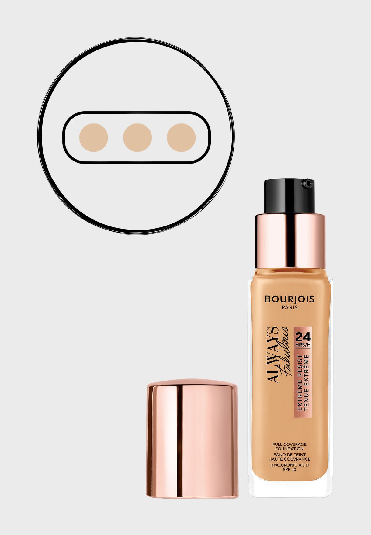 Always Fabulous 24HRS Foundation 310 Beige