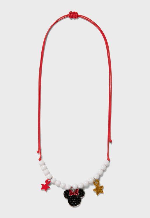 Kids Minnie Star Necklace