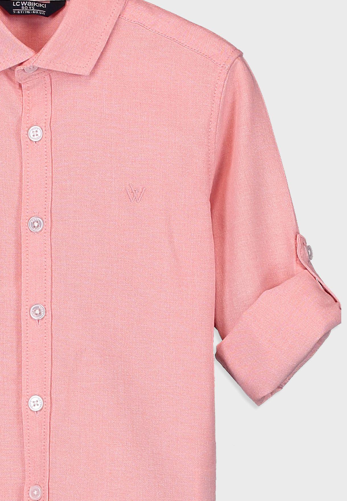 قميص اكسفورد للاطفال