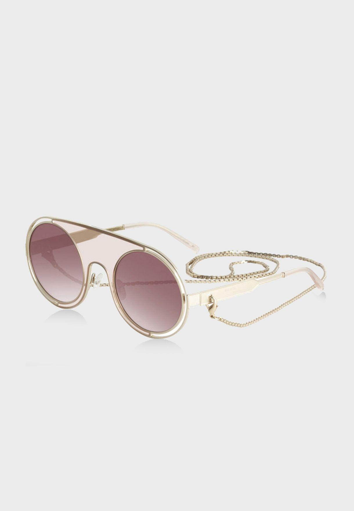 L SR778601 Round Sunglasses