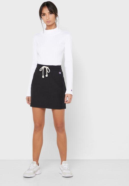 Reverse Weave Skirt