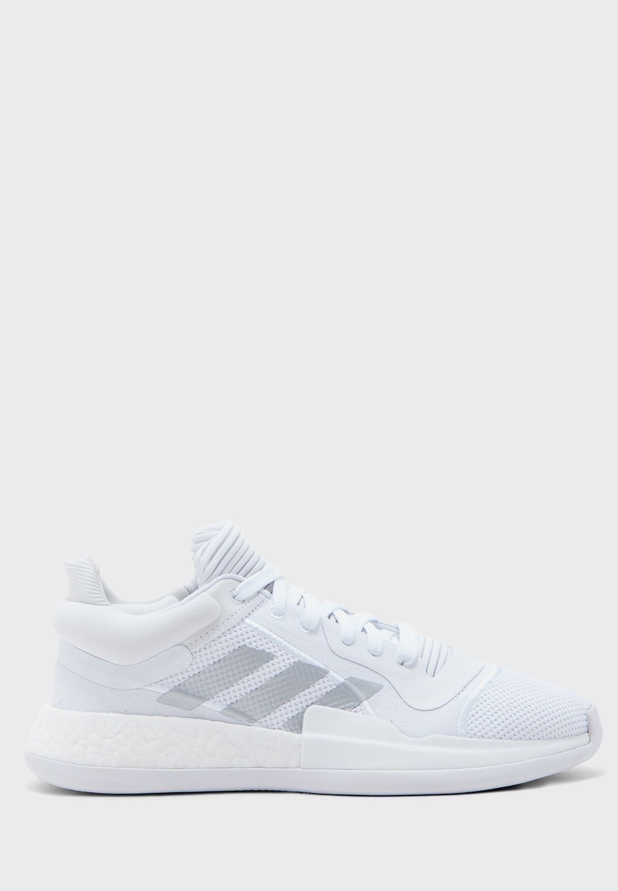 Buy adidas white Marquee Boost Low for