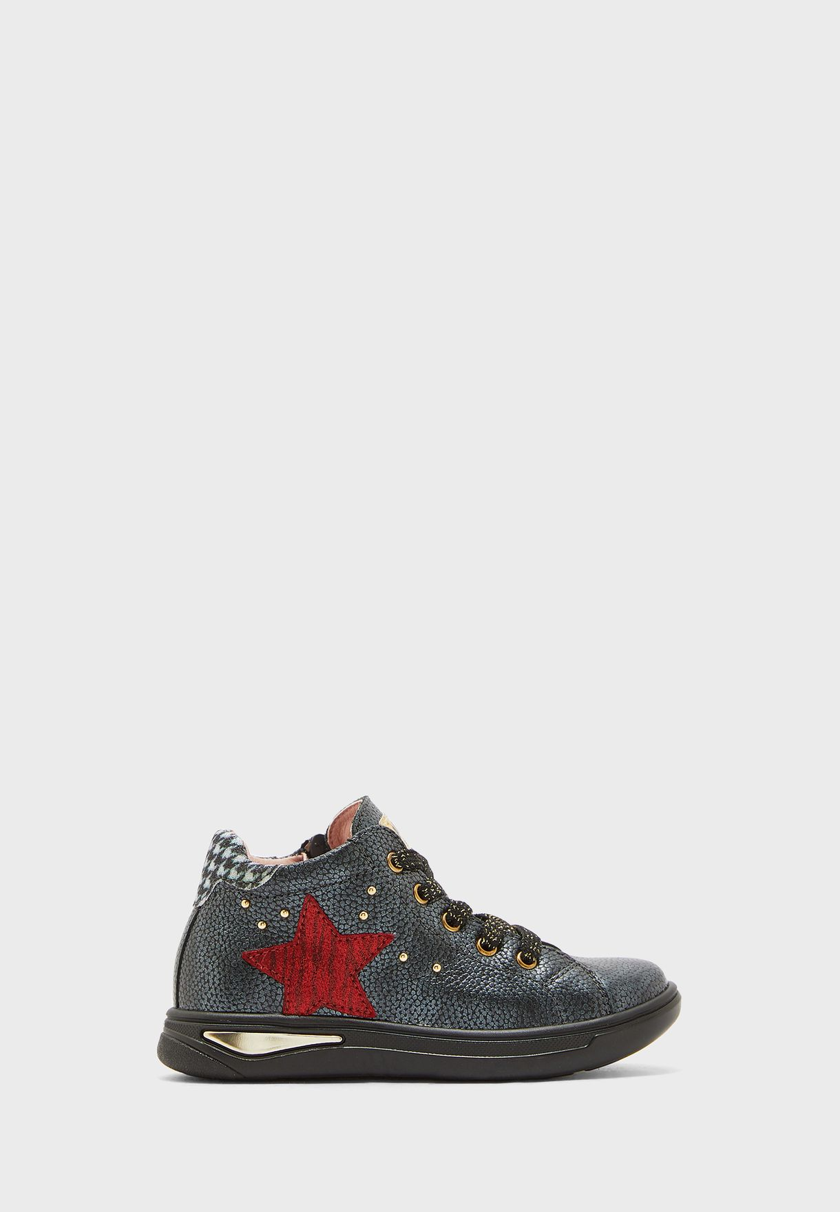 Kids Star Embroidered Boot