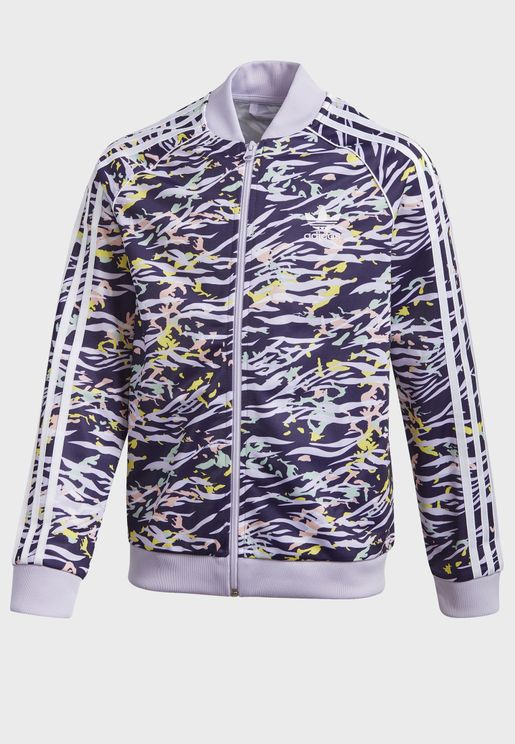 Youth Superstar AOP Track Jacket
