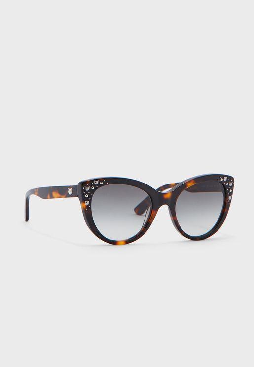 Kl966S Square Sunglasses
