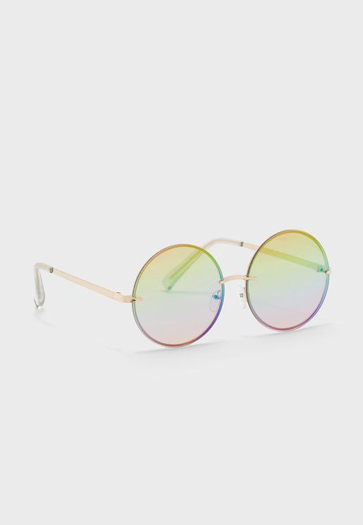 Weeksrise Round Sunglasses