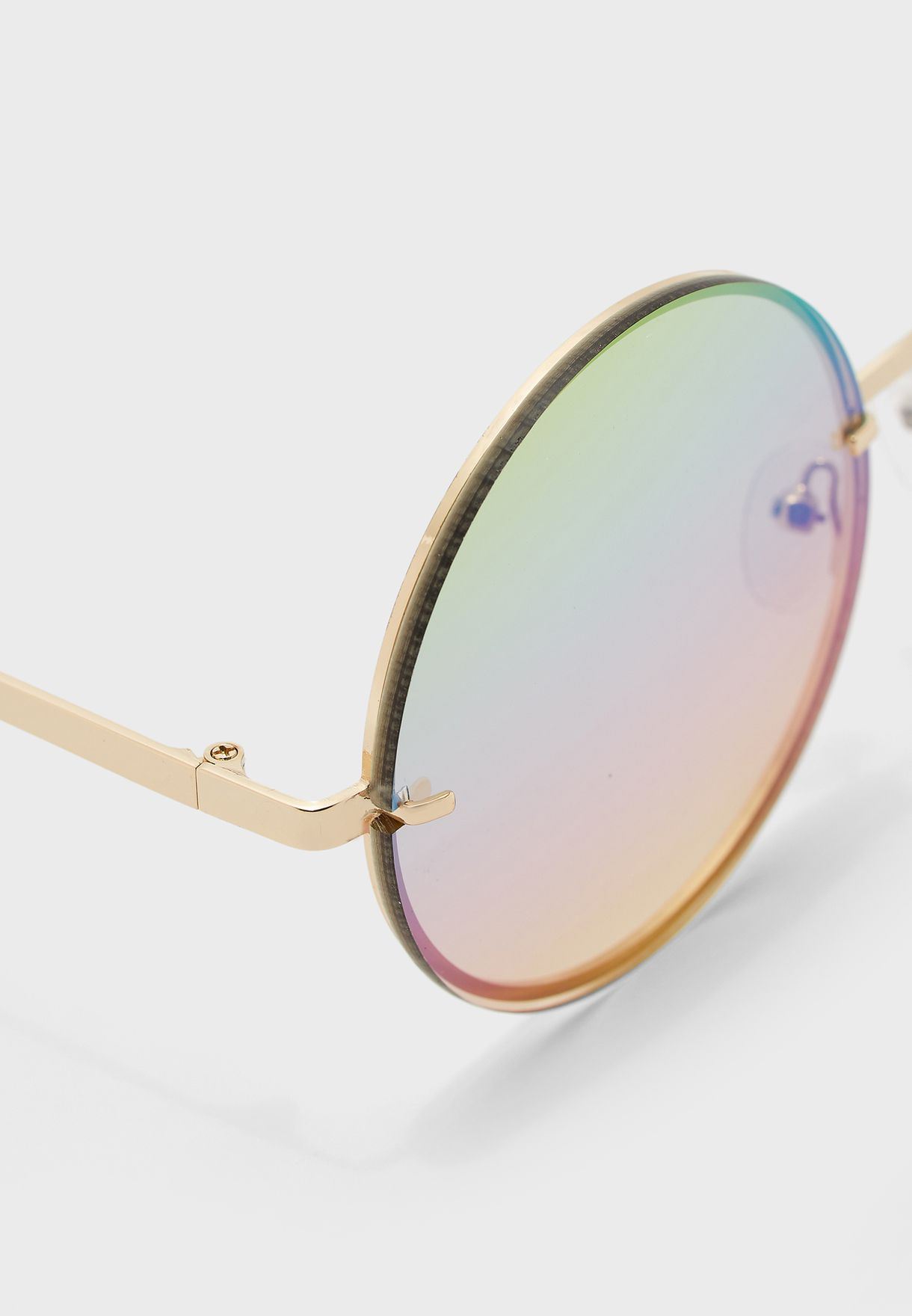 Weeksrise Round Sunglasses
