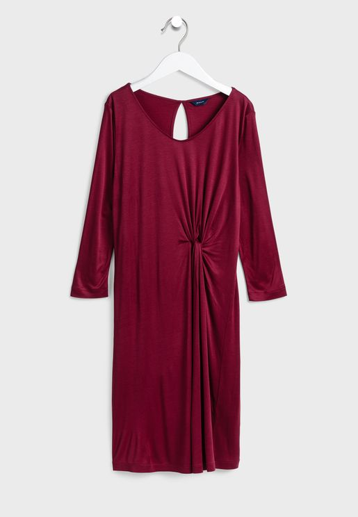 Front Twisted Dress