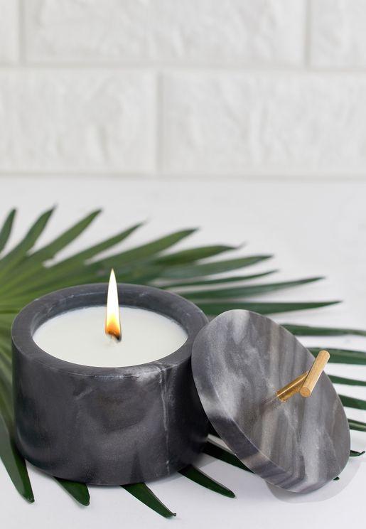 Chamomile Marble Jar Candle