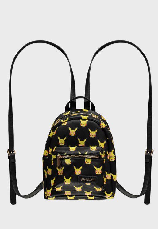 Wide Strap Backpack