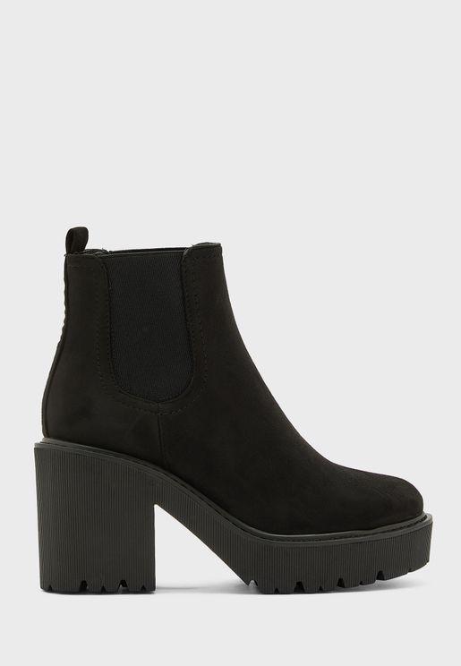 BLITZ high heel ankle boot