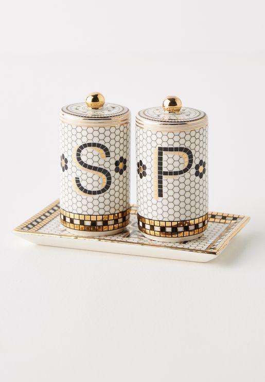 Bistro Tile Salt & Pepper