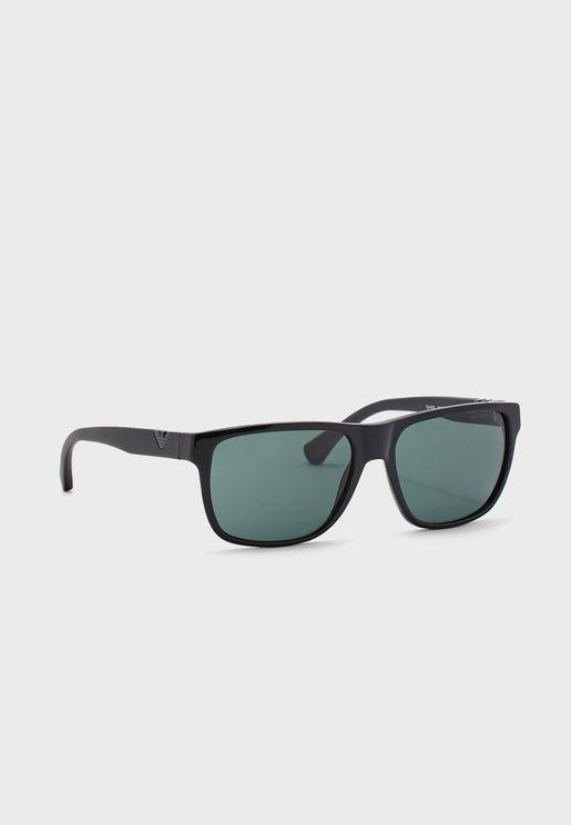 0EA4035 Wayfarer Sunglasses