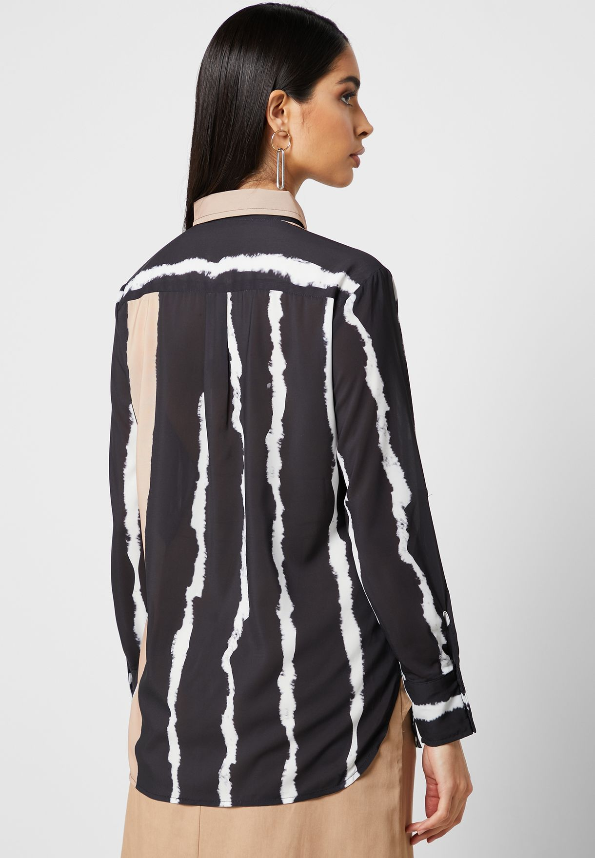 Striped Pocket Shirt