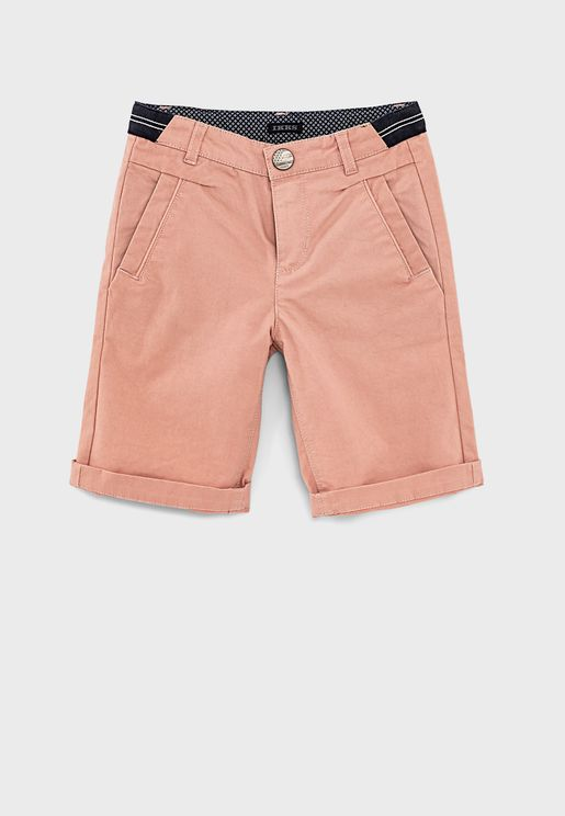 Youth Elasticated Waistband Shorts