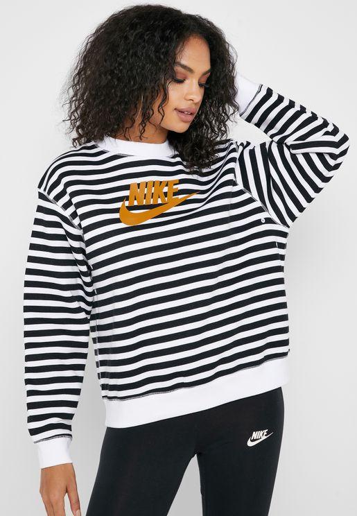 NSW Striped Sweatshirt